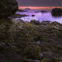 Ailsa Craig sunset Art Prints & Posters by Marten Areskoug