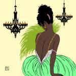 """Bianca in Green"" by nancylorene"