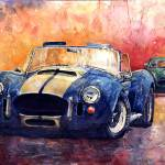 """AC Cobra Shelby 427"" by shevchukart"