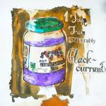 """One Jar Jam (Preferably Blackcurrant)"" by gantillustration"