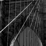 """Brooklyn Bridge in Black & White"" by PaulGaitherPhotography"