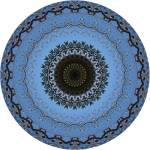 """Blue Skies Mandala"" by annesmandalas"