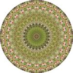 """Feathered Garden Mandala"" by annesmandalas"