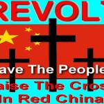 """Revolt Raise the Cross in Red China"" by byteland"