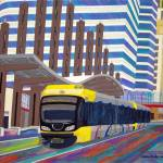 """Light Rail"" by stellapinilla"