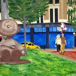 """""""Charlie Brown In Rice Park"""" by stellapinilla"""