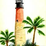 """Cape Florida Light"" by vigliotti"