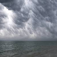 Cape Cod Bay Storm Clouds Art Prints & Posters by Christopher Seufert