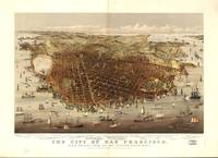 1878 San Francisco, CA Bird's Eye View Panoramic M