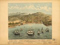 1846 San Francisco, CA Bird's Eye View Panoramic M
