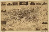 1881 Denver, CO Bird's Eye View Panoramic Map