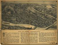 1920 Derby, CT Bird's Eye View Panoramic Map