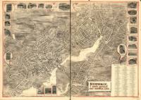 1899 Norwalk, CT Bird's Eye View Panoramic Map