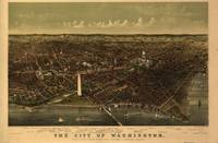 1892 Washington D.C. Bird's Eye View Panoramic Map