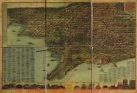 1928 Washington D.C. Bird's Eye View Panoramic Map