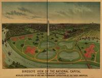 1888 Washington D.C. Bird's Eye View Panoramic Map