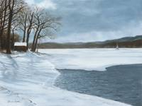 Keuka in Winter