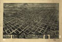 1908 Cordele, GA Bird's Eye View Panoramic Map
