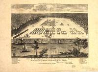 1734 Savannah, GA Bird's Eye View Panoramic Map