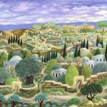 """0730_Jerusalem of gold"" by Nachshonart"