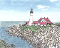 Portland ME Headlight (Lighthouse)