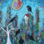 """Crows In Waiting"" by juliryan"