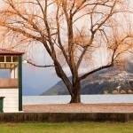 """Lakeside cafe, Queenstown"" by willhl"