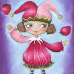 """Strawberry Jester"" by PrincessMonkey"