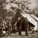 """""""lincoln civil war in field"""" by worldwidearchive"""