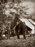 lincoln civil war in field by WorldWide Archive