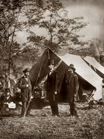 lincoln civil war in field by WorldWide Archive