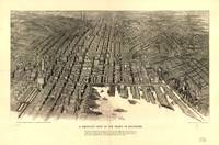 1911 Baltimore, MD Bird's Eye View Panoramic Map