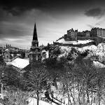 """Edinburgh in the Snow"" by Sparky2000"