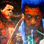 """Wayne Shorter:Interlude"" by fabulousartbymeronyoung"