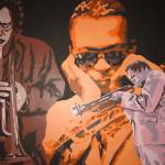 """MILES: The Miles Davis Series"" by fabulousartbymeronyoung"