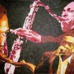 """John Coltrane"" by fabulousartbymeronyoung"