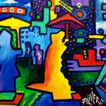 """NYC Abstract"" by piliero"