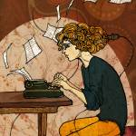 """""""Wired to Write"""" by lullafly"""