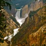 """Yellowstone - Waterfall"" by phillipc81"
