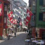 """Zurich - City Street"" by phillipc81"