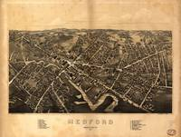 1880 Medford, MA Birds Eye View Panoramic Map