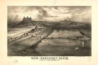 1879 Nantasket Beach, Hull, MA Birds Eye View