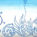 """baby sea plant"" by NinaBravoInfiniteFreedom"