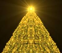 Gold ChristmasTree Faces