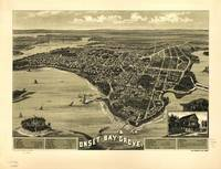 1885 Onset Bay Grove, Wareham, MA Panoramic Map