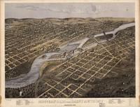 1867 Minneapolis & Saint Anthony, MN Panoramic Map