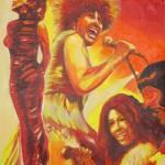 """Tina Turner"" by fabulousartbymeronyoung"