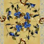 """Penny Postcard Silk-Stitched"" by RCdeWinter"