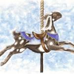 """""""Nubian Carousel Goat"""" by tnpcraft"""