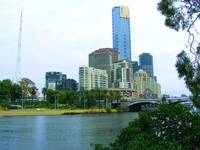 Downtown Melbourne and Yarra River 0710